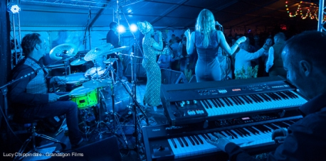 The Graces Notes performing live at Porthleven Food & Music Festival, Cornwall 2015