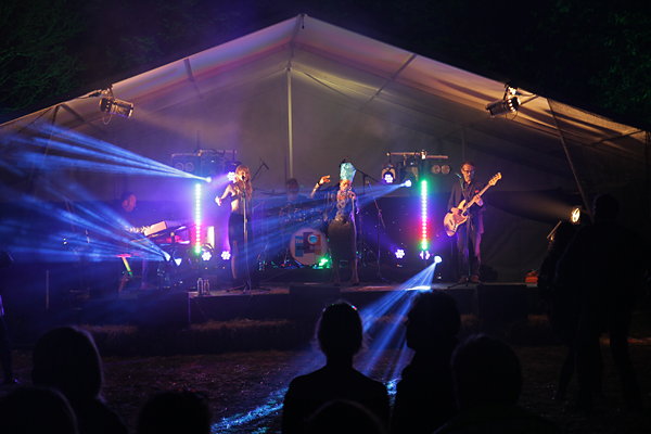 The Grace Notes performing live at Sounds of Trefusis Festival, Cornwall 2015